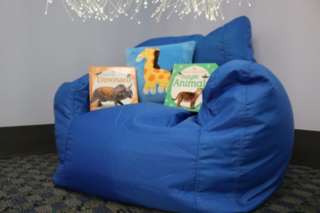 Sensory pillow set, Touch and Feel book set
